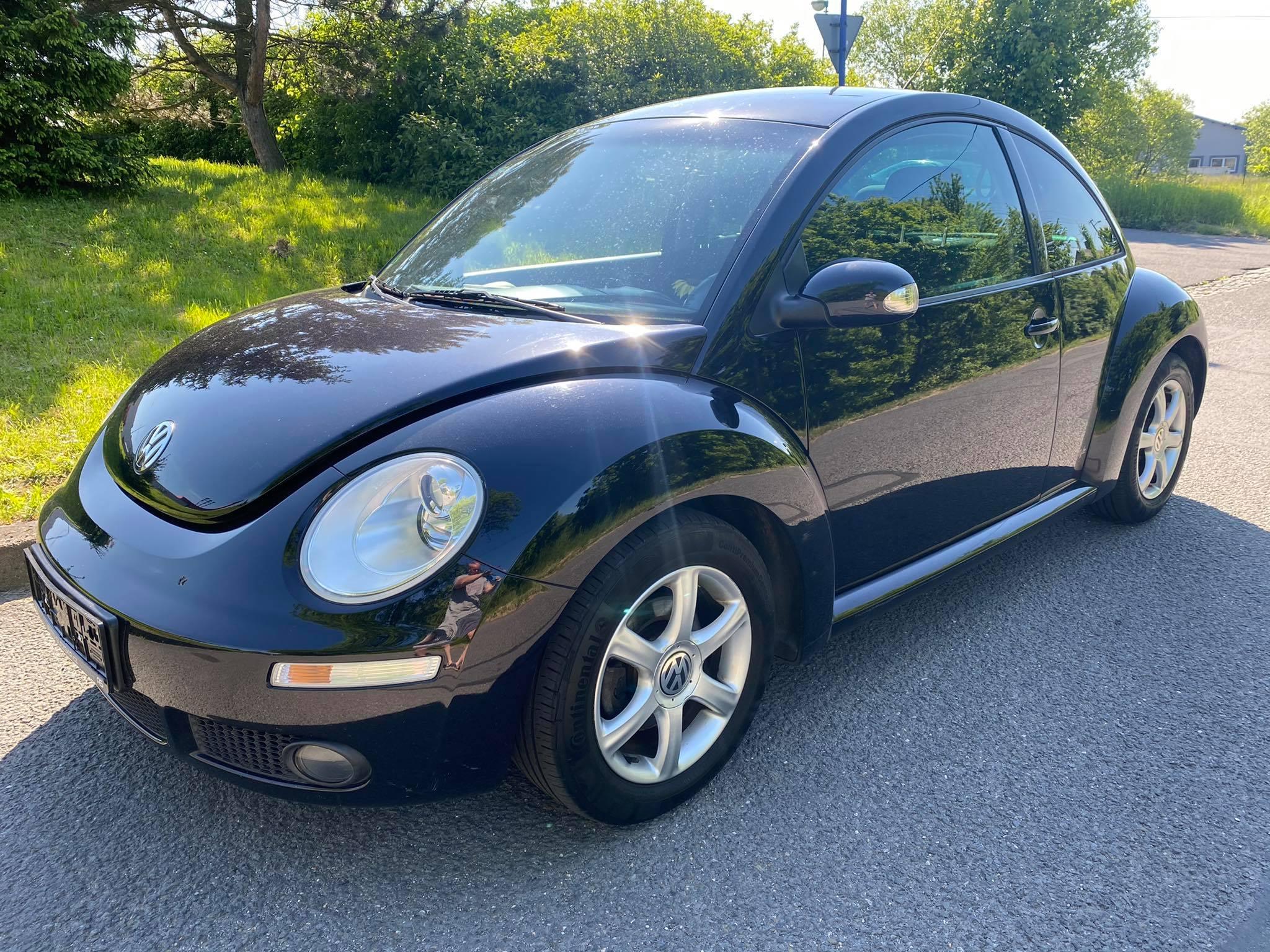 VW New Beetle 1,9TDi-servis,klima